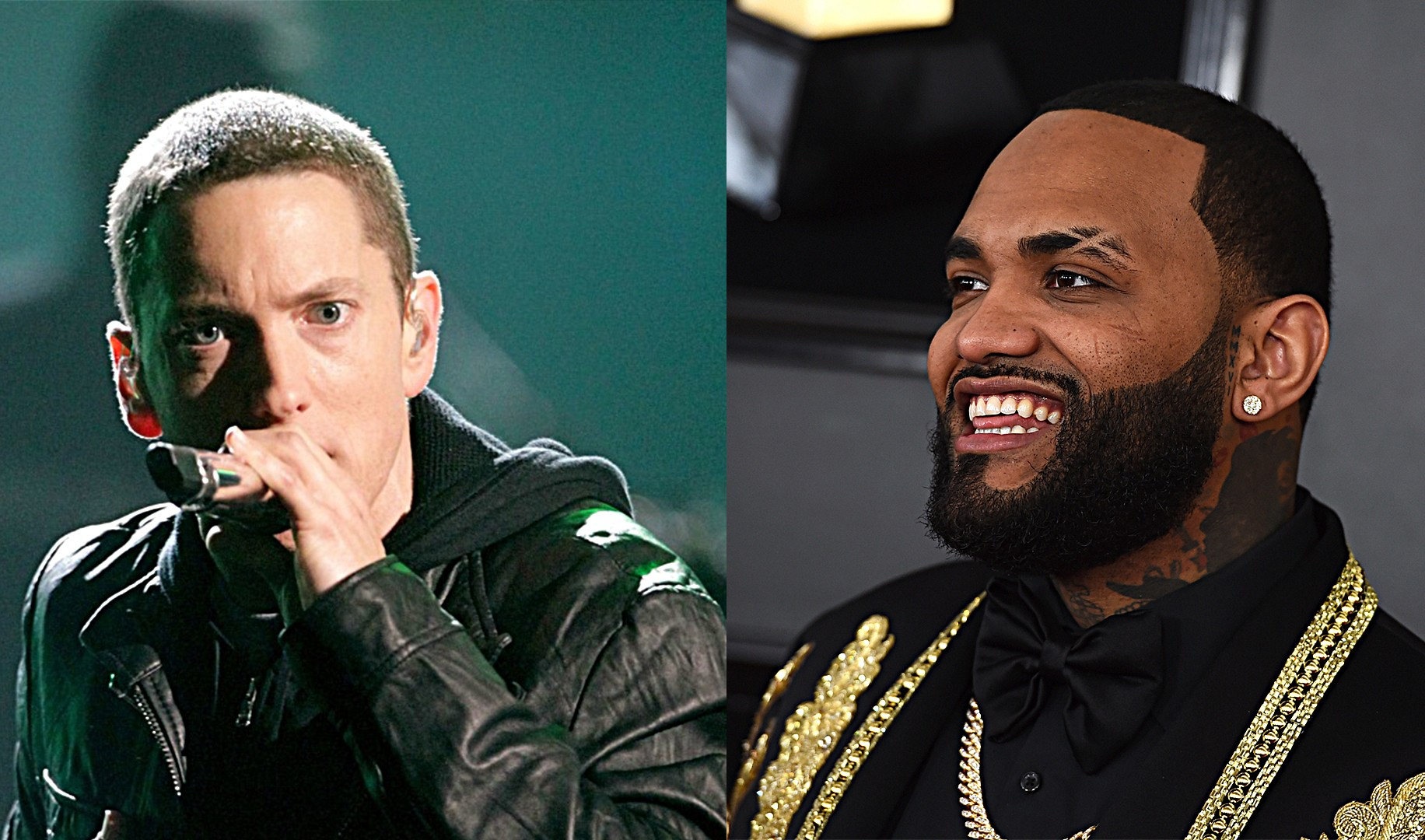 """Joyner Lucas """"There is definitely coming more songs with Eminem ..."""